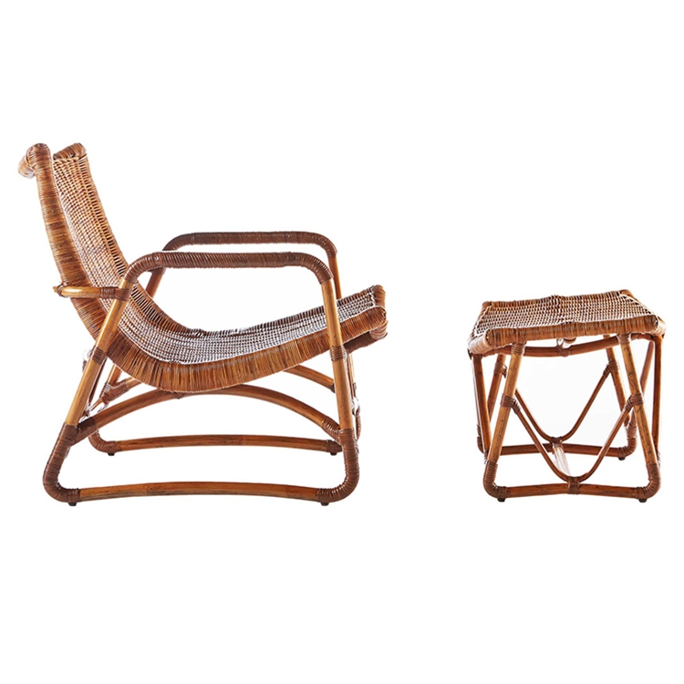 Bodega Lounge Chair & Ottoman by Selamat
