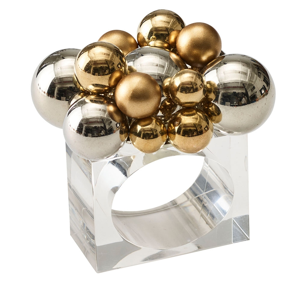 Bauble Napkin Rings (Set Of 4) By Kim Seybert