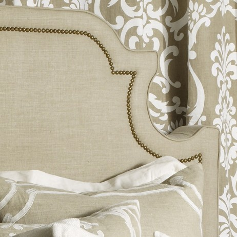 Marilyn Linen Uphostered Headboard By Lili Alessandra