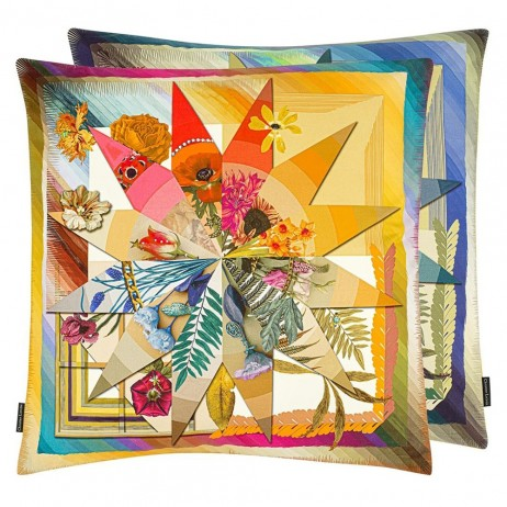 Botanic Rainbow Decorative Pillows by Christian Lacroix
