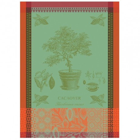 Cacaoyer En Pot Kitchen Towels by Garnier Thiebaut