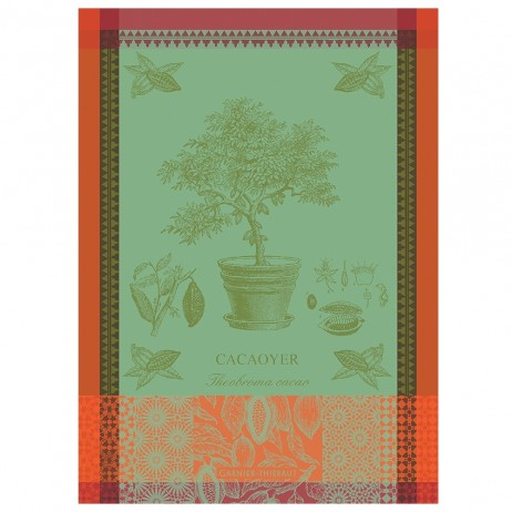 Cacoyer En Pot Kitchen Towels by Garnier Thiebaut