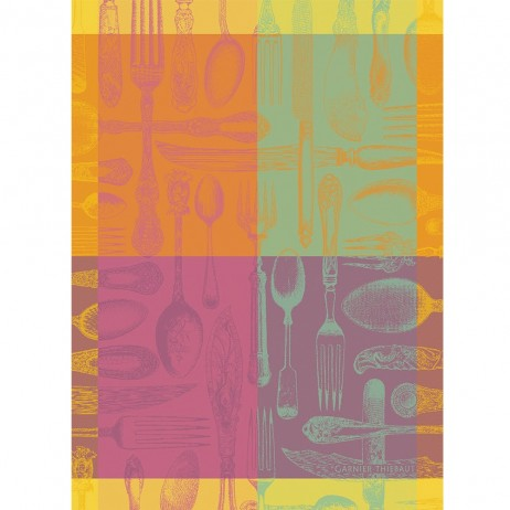 Couverts Et Couleurs Kitchen Towel By Garnier Thiebaut