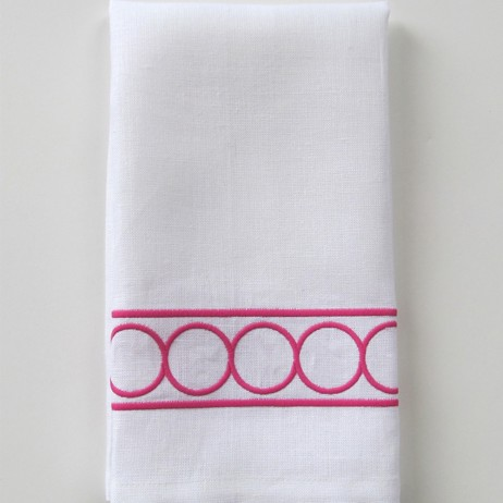 Hepburn Embroidered Tip Towel By Legacy Home