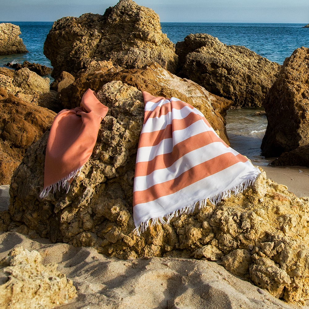 Farol Beach Towels By Abyss & Habidecor