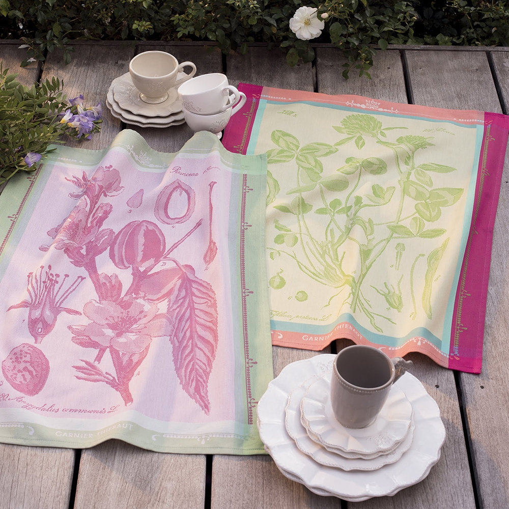 Fleurs De Trefle Kitchen Towel By Garnier Thiebaut