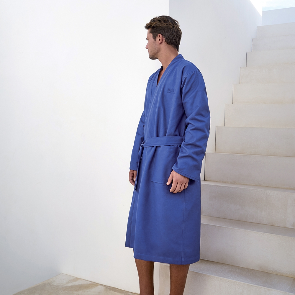 Hb Pique Bath Robe by Hugo Boss